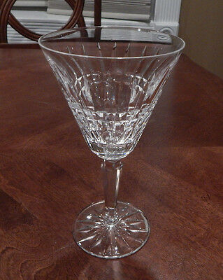 """Waterford """"glenmore"""" Water Goblet Glass (S) 7"""" Tall Excellent"""
