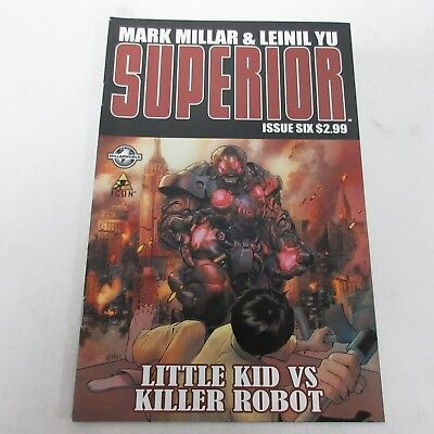 Marvel Icon Superior #6 Mark Millar & Leinil Yu NM
