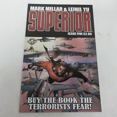 Marvel Icon Superior #5 Mark Millar & Leinil Yu NM