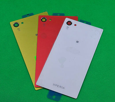 NEW Housing Cover Back Glass Panel for Sony Xperia Z5 Compact E5803 E5823