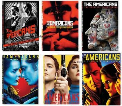 New The Americans TV Series 1-6 Complete Seasons 1-6 (1 2 3 4 5 6) DVD