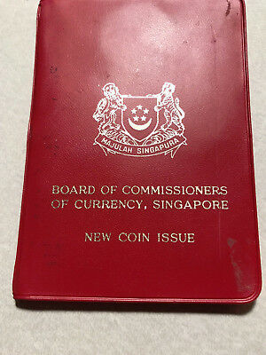 1967 Singapore Board of Commissioners of Currency Official Mint Set #11023
