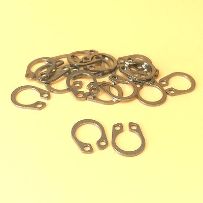 30 kinds of 304 Stainless Steel Circlip Retaining Ring Snap Ring Assortment Kit