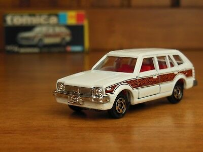 TOMY Tomica 34 HONDA CIVIC COUNTRY Made In Japan Vintage Pocket Cars Rare