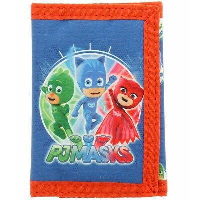 NEW OFFICIAL PJ Masks Boys Kids Coin Pocket Money Wallet
