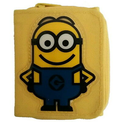 NEW OFFICIAL Despicable Me Minions Boys Girls Kids Coin Pocket Money Wallet