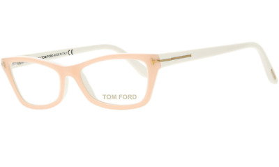 fbe29fa736 AUTHENTIC TOM FORD 5265 - 055 Eyeglasses Colored Havana  NEW  53mm ...