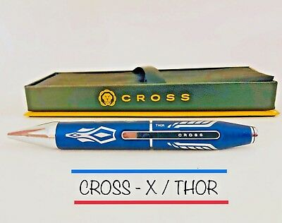 """Cross X - Marvel - """"THOR"""" Rollerball Pen (AT0725-8) Brand New In Box"""