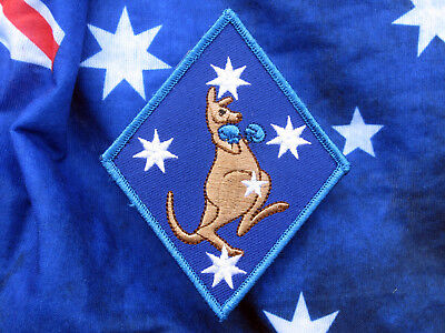 Southern Cross Boxing Kangaroo Blue Patch - Excellent Design & Quality