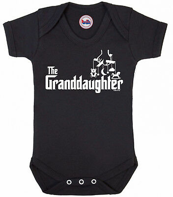 Funny girls movie BABYGROW 'THE GRANDDAUGHTER' Baby Clothes Vest Shower