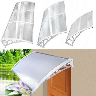 New Door Canopy Awning Shelter Front AND Back Door Awning Polycarbonate 6 Sizes  sc 1 st  PicClick UK & NEW DOOR CANOPY Awning Shelter Front AND Back Door Awning ...