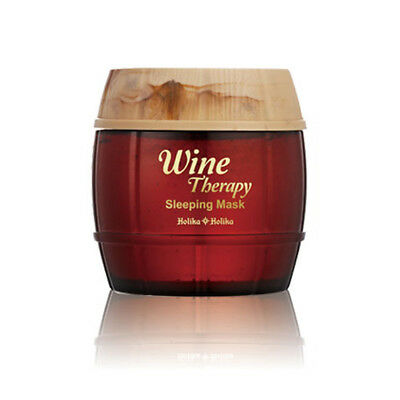 [Holika Holika] Wine Therapy Sleeping Mask - #1 Red Wine / Free Gift