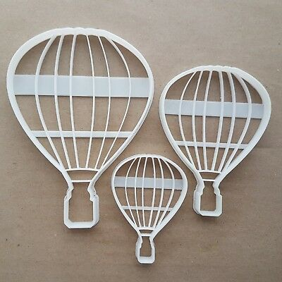 Hot Air Balloon Basket Shape Cookie Cutter Dough Biscuit Pastry Fondant Sharp