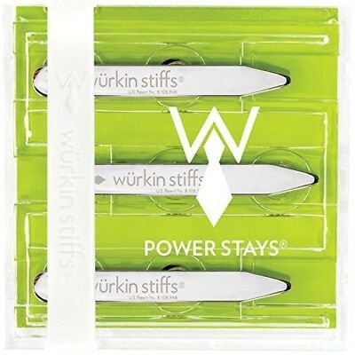 Burkina Stiffs inch Power Collar Stays Pairs Magnetic Metal Outperform Every
