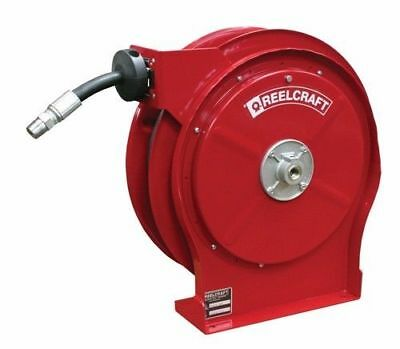 "Reelcraft B5435 OHP Hose Reel 1/4"" x 35ft. 5000 psi for Grease Service w/Hose"