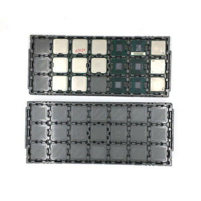 5 PCs CPU Tray Holder for Intel Processor Packaging Shell Storage Container
