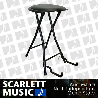 UXL Guitar Stool with Guitar Stand In One FGS-1 - w/12 Months Warranty.