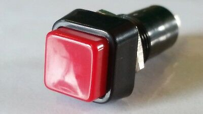 NON Latching Red Push Switch SCI R13-23A SPST