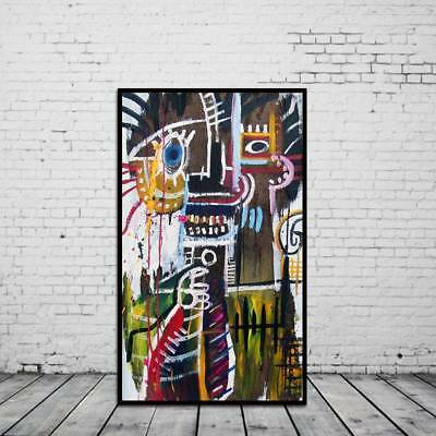 Graffiti Unframed Modern Huge Wall Decor Character Canvas Oil Painting Abstract