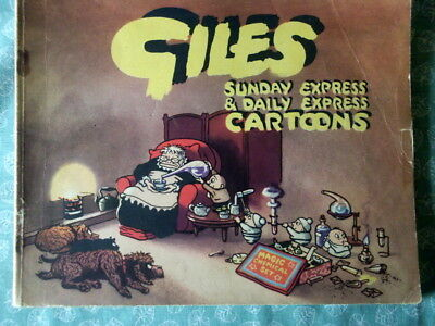 GILES CARTOON ANNUAL No. 6 from 1952.