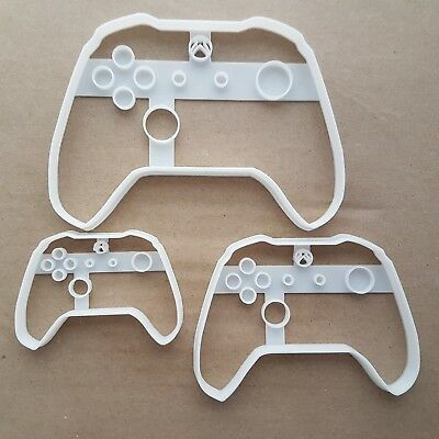 Xbox Controller Pad Game Shape Cookie Cutter Dough Biscuit Pastry Fondant Sharp