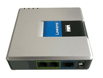Linksys Cisco Small Business PAP2T VOIP Adapter mit 2 Telefon Ports