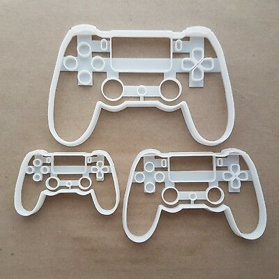 Play Station Controller Shape Cookie Cutter Dough Biscuit Pastry Fondant Sharp