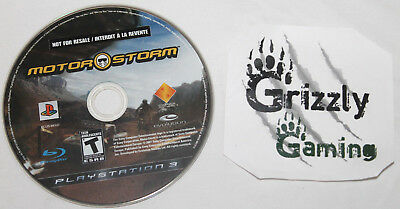 USED MotorStorm PS3 (NTSC) (Disc Only)
