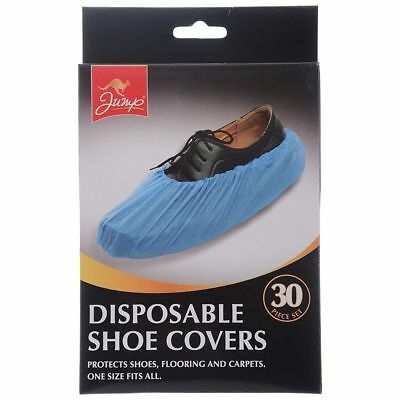 Disposable Overshoes Shoe Covers Protects Shoes Flooring Carpets 1 Size Fits All