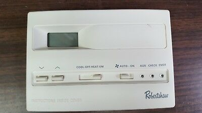Robertshaw Digital Thermostat 9520 Programmable