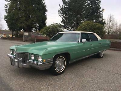 1972 Cadillac DeVille -- 1972 Cadillac DeVille  100546 Miles Other Sedan Other 8-Cylinder Other Automatic