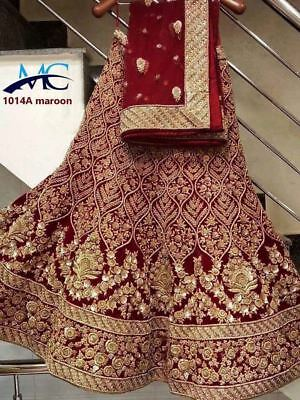Wedding wear Lehenga Designer Indian Latest saree Bollywood lengha choli set