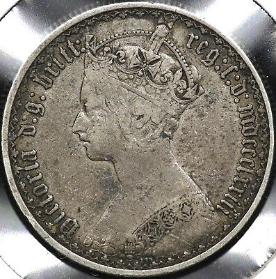 1873 Gothic One Florin Great Britain
