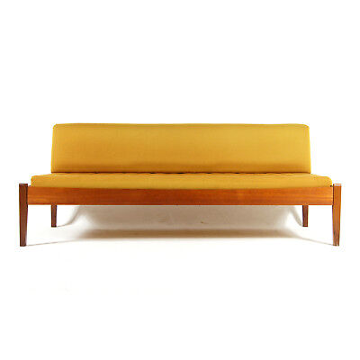 Retro Vintage Danish Design Teak Daybed Single Sofa Bed Studio Couch 50s 60s 70s