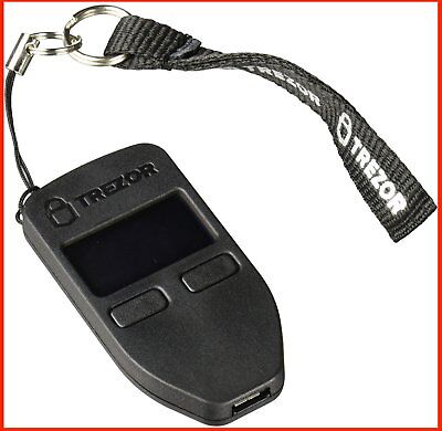 Trezor bitcoin wallet Black , New, Authentic, Free Shipping