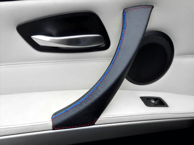Door Handle Cover BMW 3 Series E90 E91 E92 E93 M Sport Stitch M/// LEFT