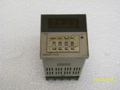 OMRON 4 DIGIT TIMER COUNTER with SOCKET BASE , H5CN-XBN