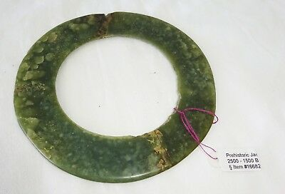 2500-1500 BCE Thai Ban Na Di Site Nephrite Jade Anklet (Mil