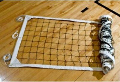 Tandem Sport Deluxe Recreation Cable top and bottom Volleyball Net