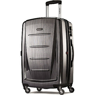 """New Samsonite Winfield 2 Fashion HS Spinner 28"""" - Charcoal"""