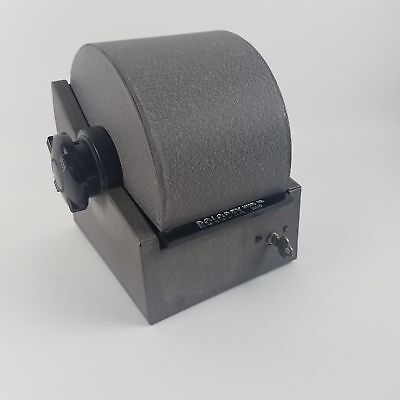 Gray Metal Vintage Rolodex Model No. 2254D w/Key *AS IS*