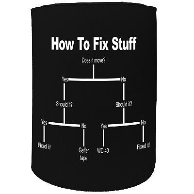Stubby Holder - How To Fix Stuff Diy Dit It Yourself - Funny Novelty Christmas