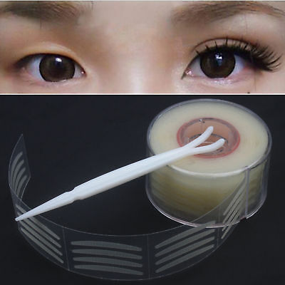 600pcs Invisible Narrow Double Eyelid Tape Sweatproof Breathable Sticker 2 Types