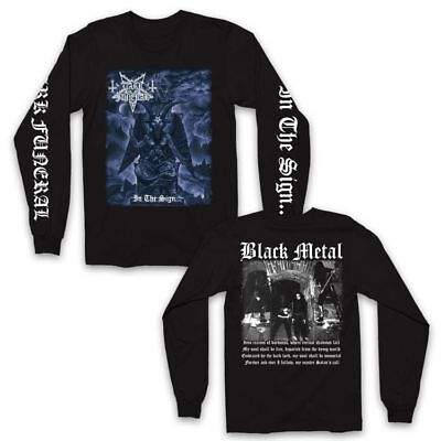 DARK FUNERAL In The Sign Long Sleeve T SHIRT M-2XL New Official Kings Road Merch