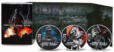 Godzilla FINAL WARS Special Edition [DVD] from Japan with tracking