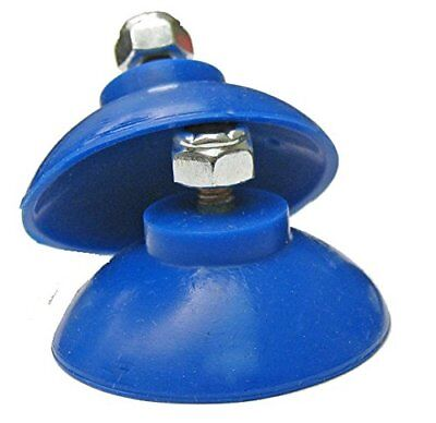EZ Reacher Cups, Blue Silicon with Locknuts