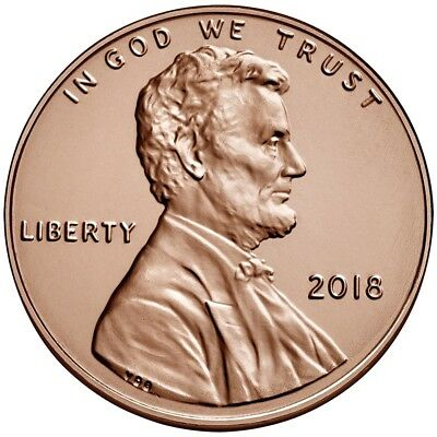 2018 + 2017 P - Lincoln  Cent Uncirculated!Philadelhia Mint