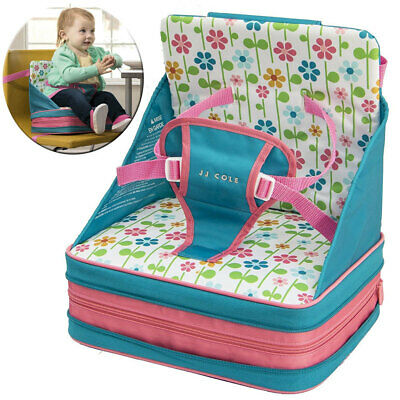JJ Cole 9m+ Baby/Toddler Feeding/Booster Seat for High-Chair/Foldable/Portable G