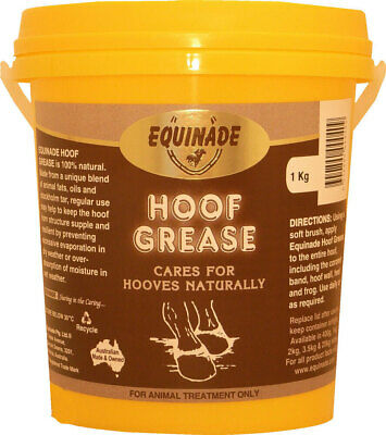 New Equinade Hoof Grease All Natural Nourishing Dressing for horses+ponies 1kg