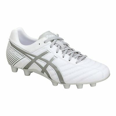 d91ae88f4c4 ASICS Soccer Rugby Spike Shoes DS LIGHT WB 2 TSI754 White Gray US6(24.5cm